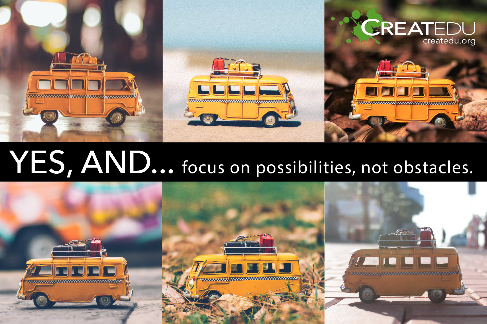 Createdu Spark: Yes, and...picture of buses